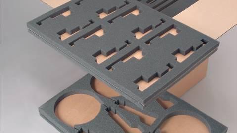 schaumstoff formteile und schaumstoff inlays nach mass. Black Bedroom Furniture Sets. Home Design Ideas